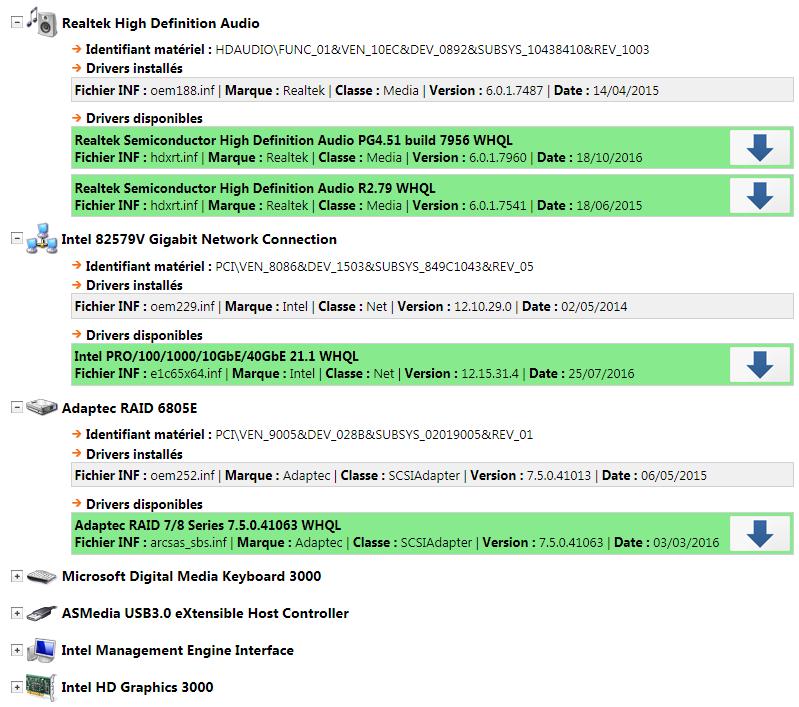 TousLesDrivers.com - Téléchargement gratuit de mises à ...: http://www.touslesdrivers.com/php/screenshots/index.php?v_image=mes_drivers/capture_drivers_2.png