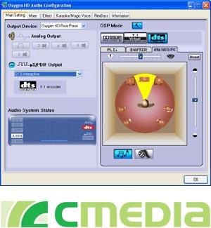 USB Audio--C-Media Electronics Inc
