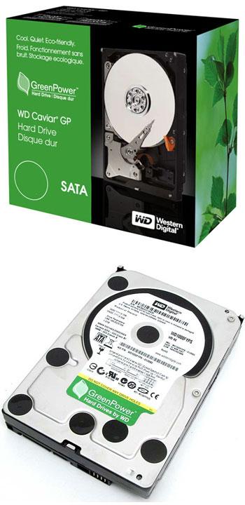 Mise à jour du firmware des disques Green Power RE2-GP