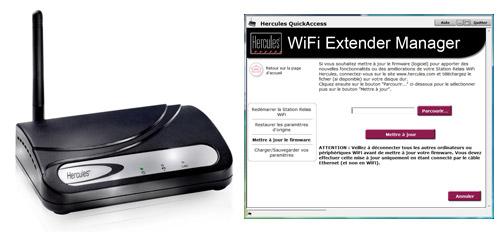 mise jour de l 39 amplificateur hercules station relais wifi hwgext 54 lb. Black Bedroom Furniture Sets. Home Design Ideas