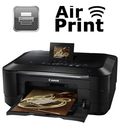 airprint pour les imprimantes canon pixma mg5300 mg6200. Black Bedroom Furniture Sets. Home Design Ideas