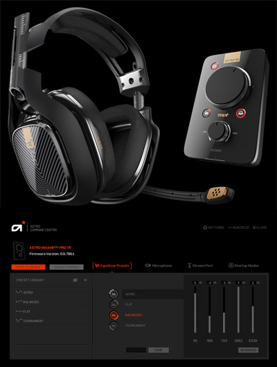 astro command center pour l 39 amplificateur mixamp pro tr. Black Bedroom Furniture Sets. Home Design Ideas