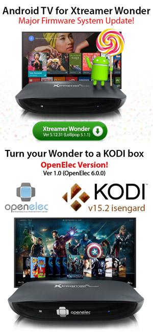 openelec firmware file for xtreamer wonder