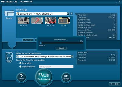 Patch Windows 10 Creators Update pour les applications Panasonic HD